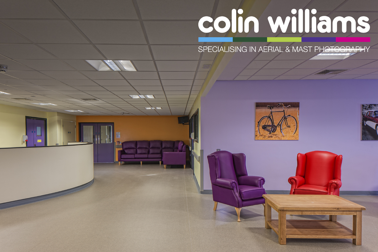 Interior photography - Waterside Hospital